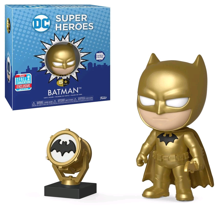 Batman Midas -  NYCC Exclusive 2018 DC 5 Star Funko