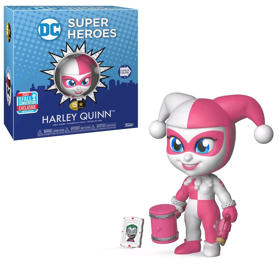Harley Quinn Pink - NYCC Exclusive 2018 DC 5 Star Funko