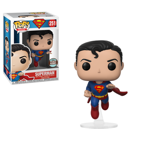 Flying Superman - DC Funko Pop #251 (80th Anniversary Edition)