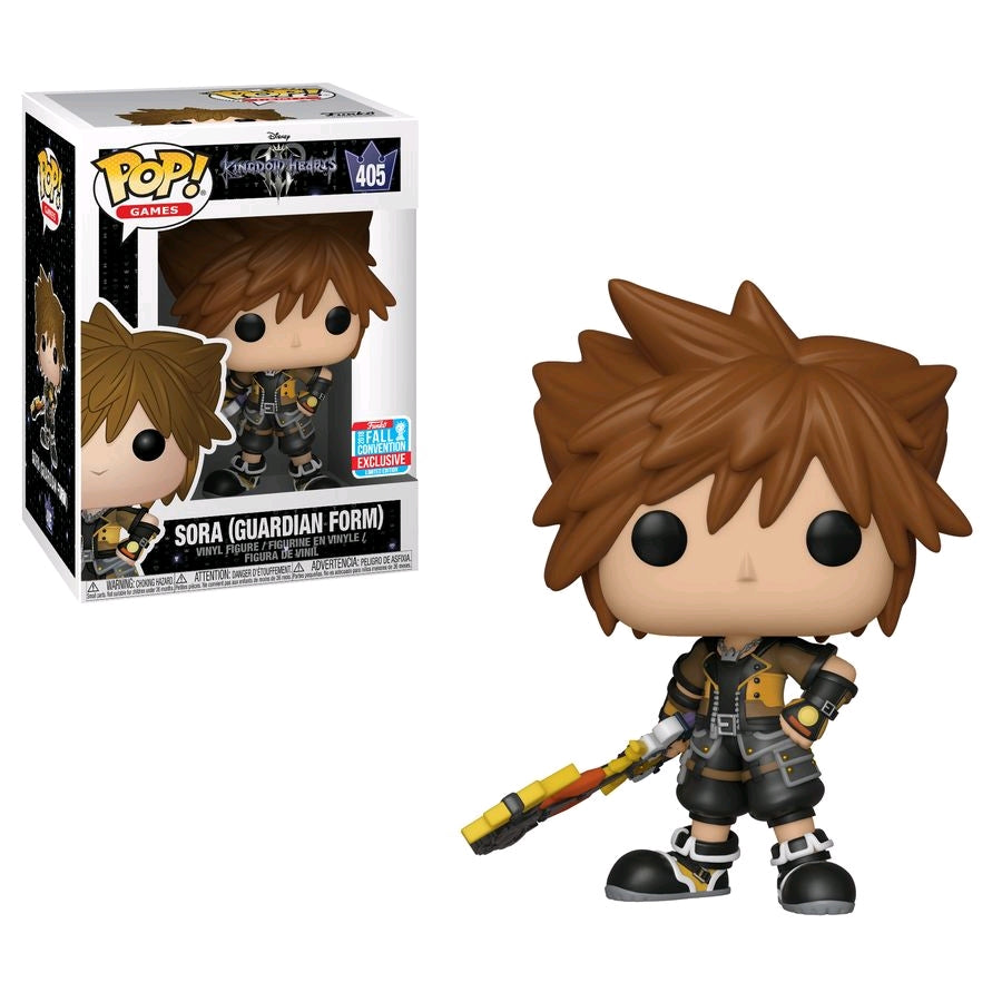 Funko Pop NYCC Exclusive 2018 Kingdom of Hearts  - Sora (Guardian Form) #405