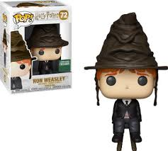 Ron Weasley with Sorting Hat - US Exclusive Harry Potter Funko Pop