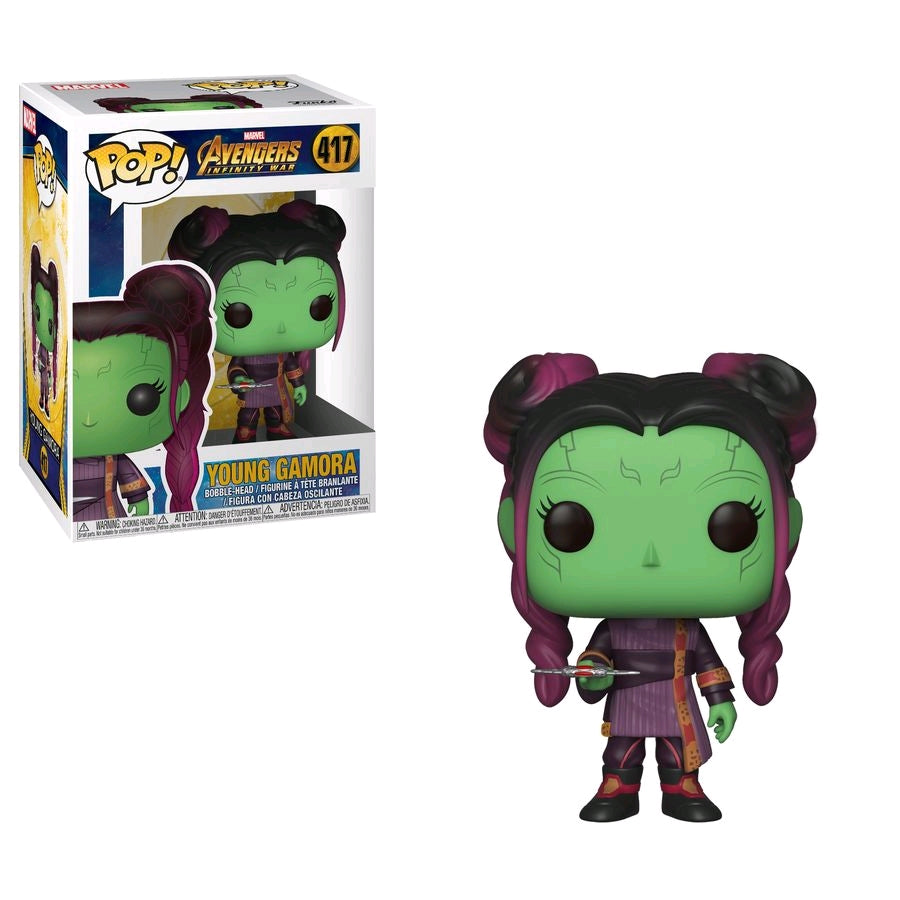 Funko Pop Marvel: Avengers Infinity War - Young Gamora #417