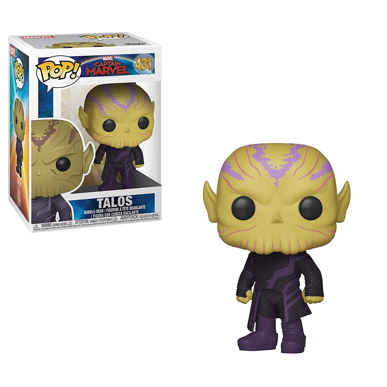Funko Pop Marvel: Captain Marvel - Talos #431