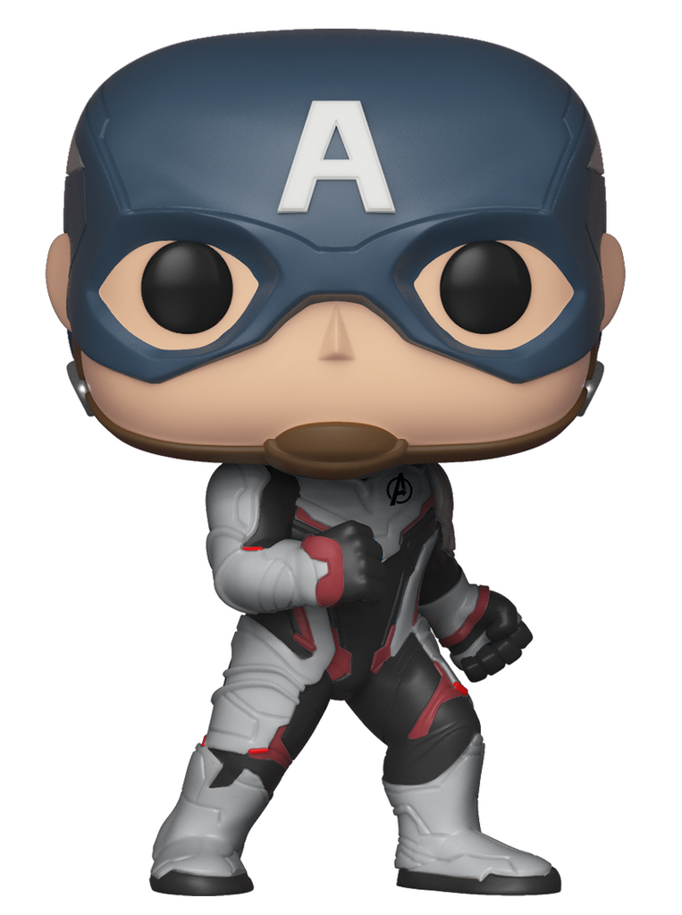 Funko Pop Marvel: Avengers Endgame - Captain America in Team Suit #450