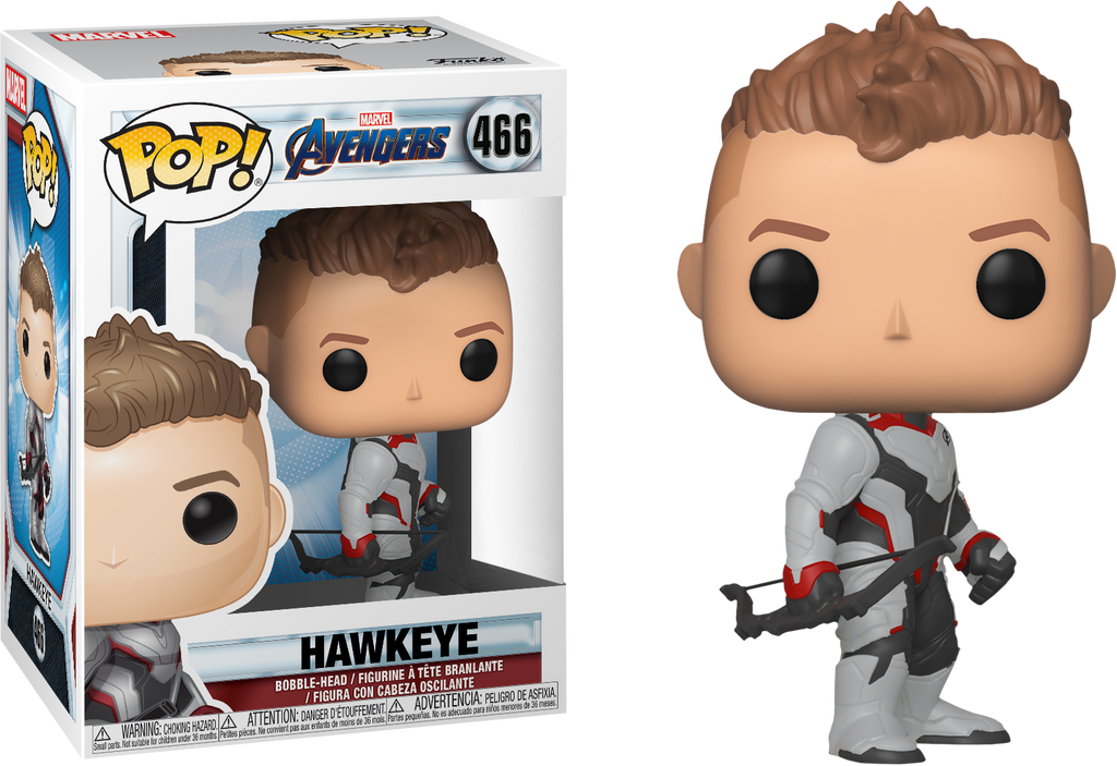 Funko Pop Marvel: Avengers Endgame - Hawkeye (Team Suit) #466