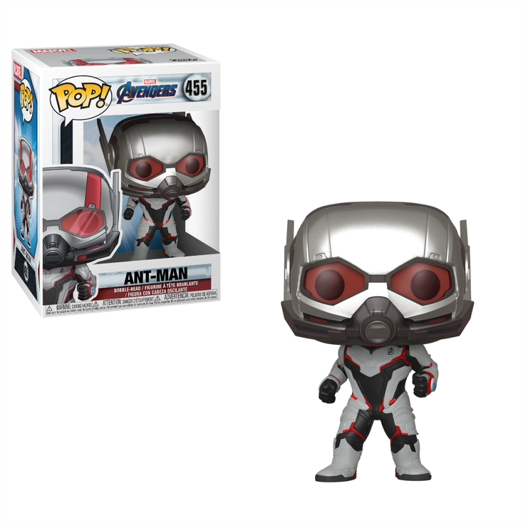 Funko Pop Marvel: Avengers Endgame - Ant Man (Team Suit) #455