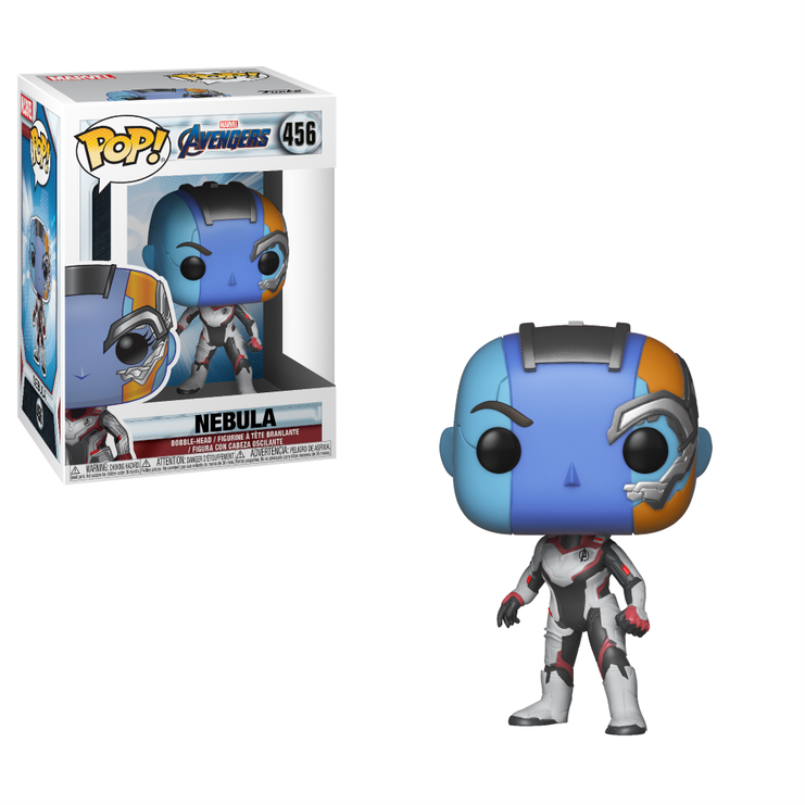 NO BOX - Funko Pop Marvel: Avengers Endgame - Nebula (Team Suit) #456
