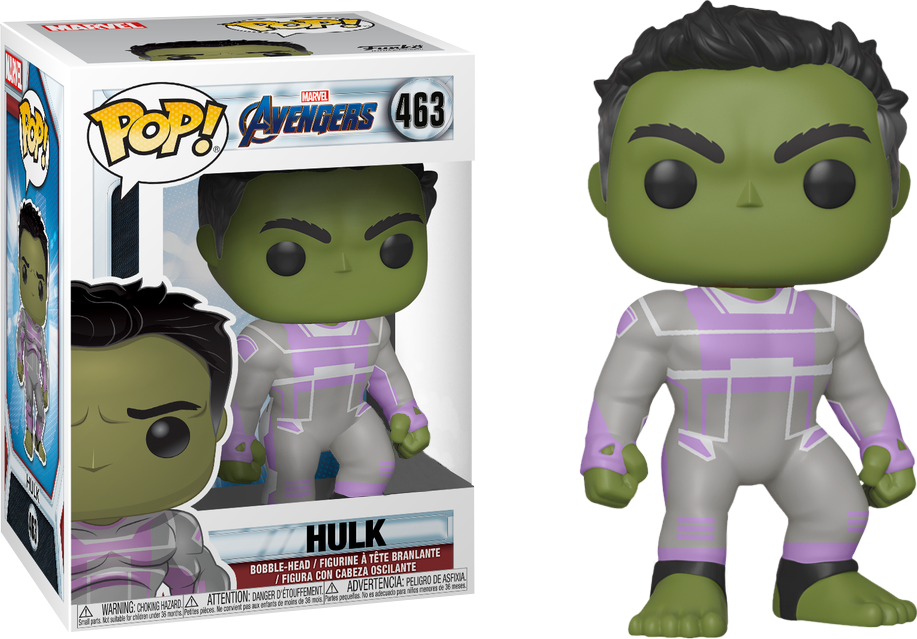 Funko Pop Marvel: Avengers Endgame - Smart Hulk #463