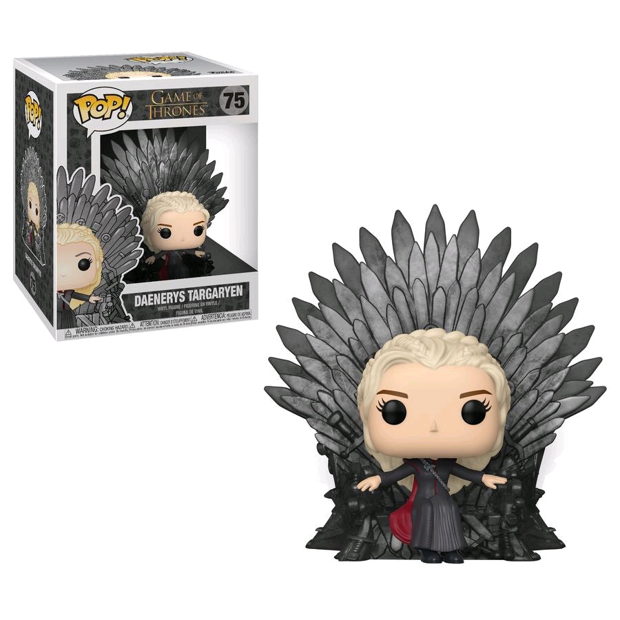 Funko Pop Movie Moments Game of Thrones - Daenerys Sitting on Thrones #75