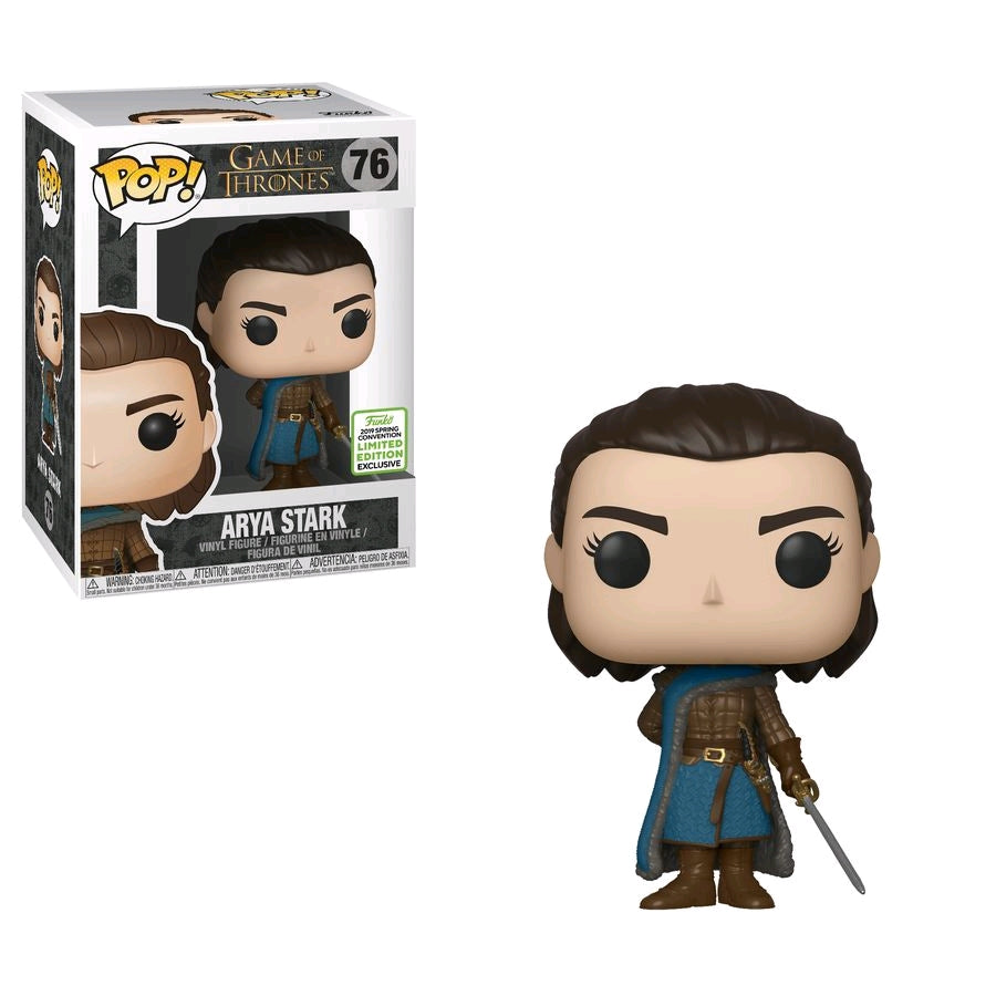 Arya Stark - Game of Thrones Season 9 ECCC 2019 US Exclusive Funko Pop #76