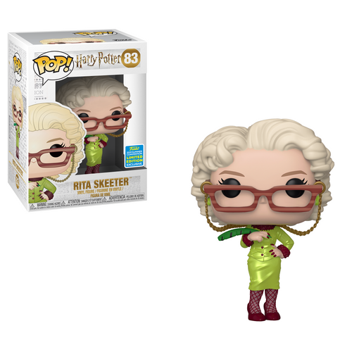Rita Skeeter - Harry Potter Funko Pop SDCC 2019 Exclusive #83