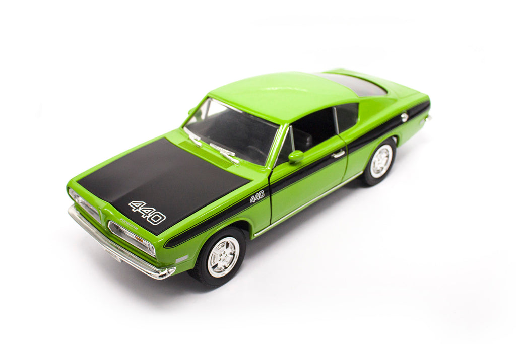 1969 Plymouth Barracude (27 Cm - 1:18 Scale)