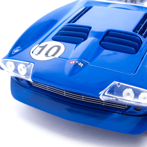 1964 Corvette Roadster Dunkelblau (27 Cm - 1:18 Scale) - Road Signature