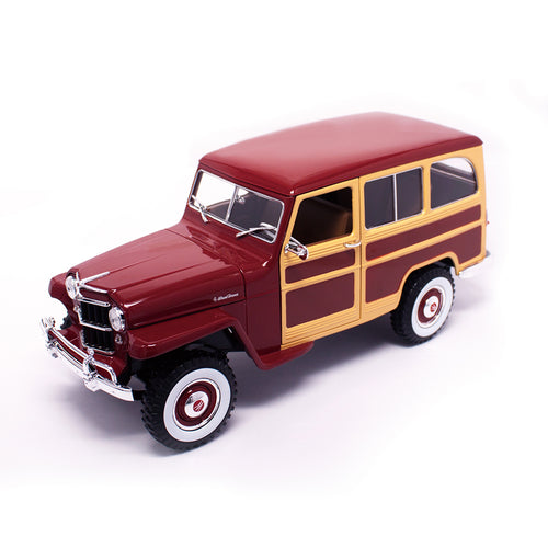 1955 Willys Jeep Station Wagon (27 Cm - 1:18 Scale)