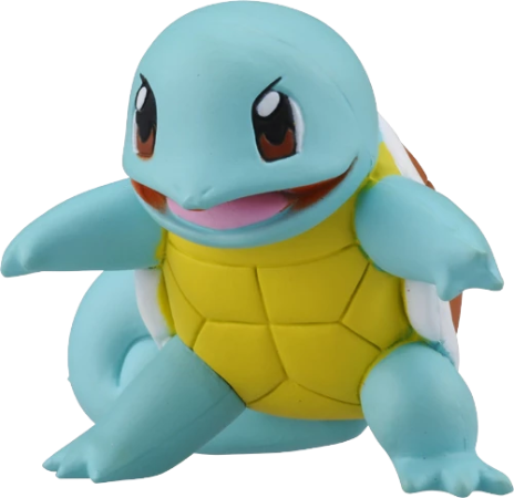 Pokemon Moncolle #3 Squirtle