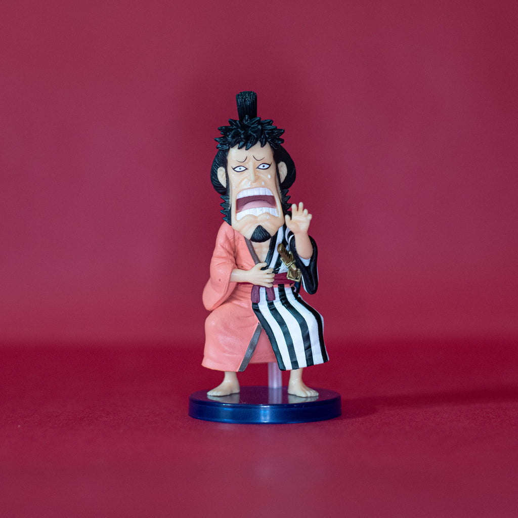 Banpresto One Piece World Collectible Figure - Kin'emon