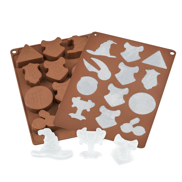 Harry Potter Chocolate / Ice Cube Mould - Mixed