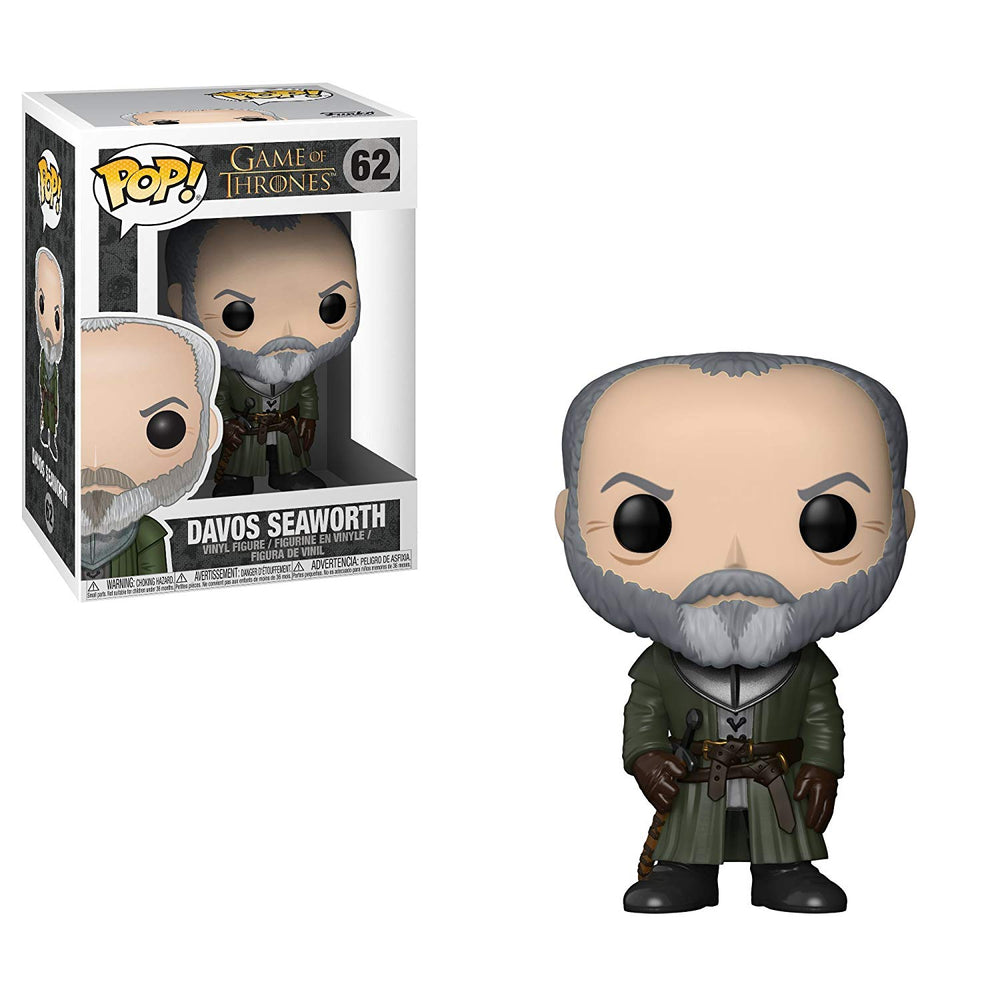 Funko Pop Game of Thrones -  Davos Seaworth #62
