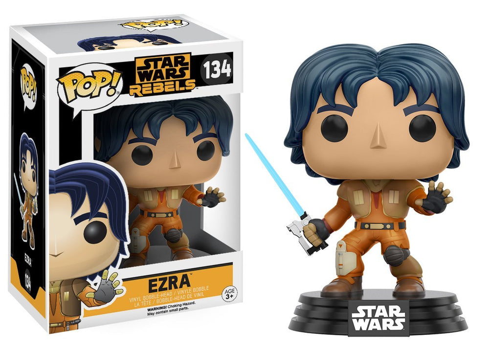 Star Wars Rebels Ezra Funko Pop! Vinyl Bobble Head