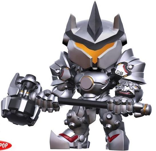 "Reinhardt 6"" - Overwatch Funko Pop Games #178"