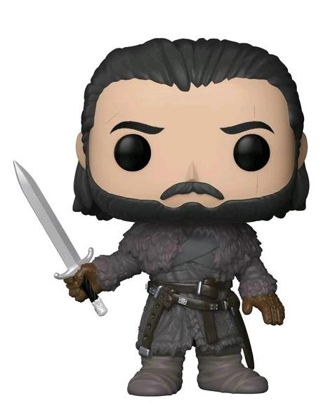 Jon Snow - Game of Thrones S8 Funko Pop TV (Beyond the Wall) #61