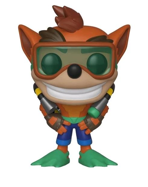 Crash w/ Scuba - Crash Bandicoot S2 Funko Pop Games #421