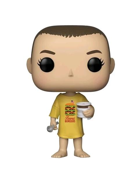 Eleven in Burger Shirt - Stranger Things - Funko  POP Television #718