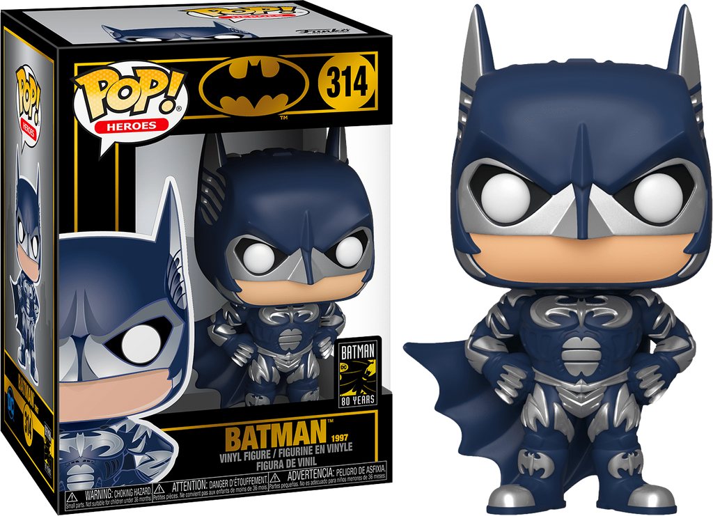 Batman (1997) - Batman 80th DC Heroes - Funko Pop #314