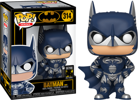Batman Forever (1995) - DC Comics - Batman 80th Funko Pop! Vinyl Figure #289