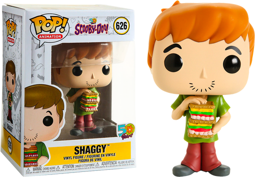 Shaggy w/ Sandwich - Scooby Doo Funko Pop Animation #626