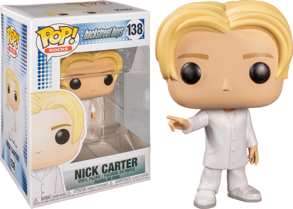 POP Rocks - Backstreet Boys - Nick Carter #138