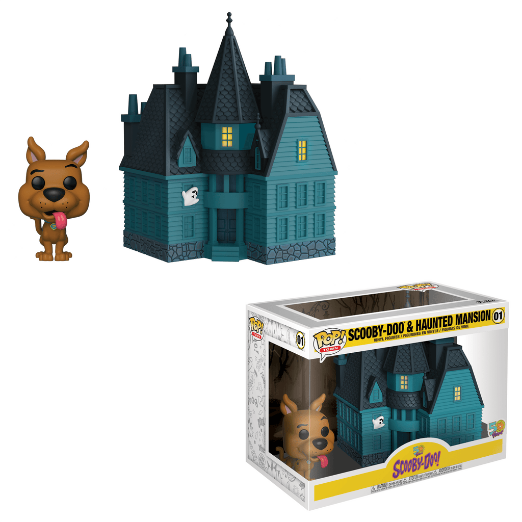 Scooby Doo- Haunted Mansion Funko POP Town #01