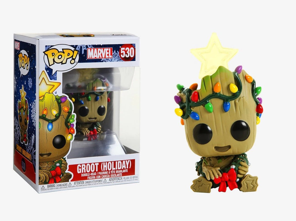 Funko Pop Marvel - Holiday Groot  #530