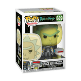 Rick and Morty - Rick Space Suit with Snake Pop! Vinyl #689