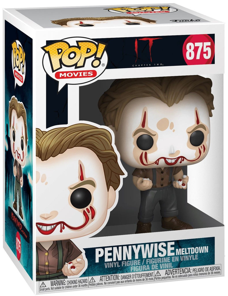 POP Movies: IT 2 - Pennywise Meltdown  Pop Vinyl Action Figure #875
