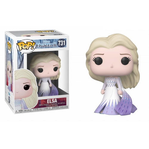 Frozen 2 - Disney - Elsa in Epilogue Dress Funko Pop! Vinyl #731