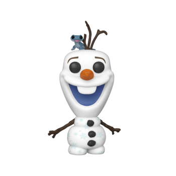 Frozen 2 - Disney - Olaf w/Fire Salamander Funko Pop Vinyl Action Figure #733