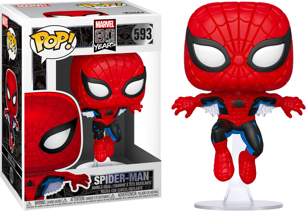 Spider-Man - Spider-Man 1st Appearance 80th Anniversary Pop! Vinyl #593