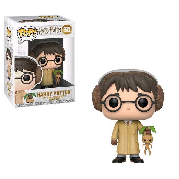 Harry Potter with Mandrake - Harry Potter Herbology Funko Pop #55