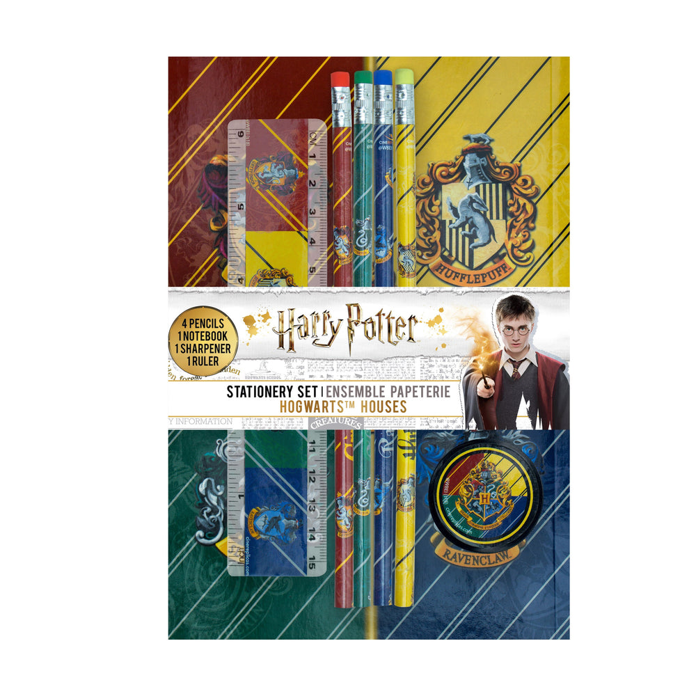 Hogwarts Houses Stationery Set