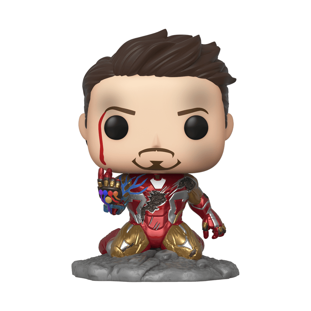 Funko Pop Marvel Avengers - I Am Iron Man (Metallic) (Glows in the Dark) #580