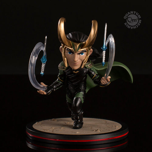Loki – Thor: Ragnarok Q-Fig Diorama, Quantum Mechanix, Marvel Action Figure