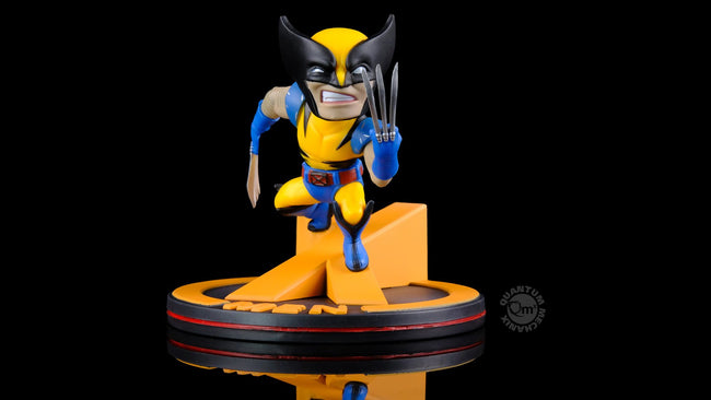 Wolverine Q-Fig Diorama, Quantum Mechanix, Marvel Action Figure