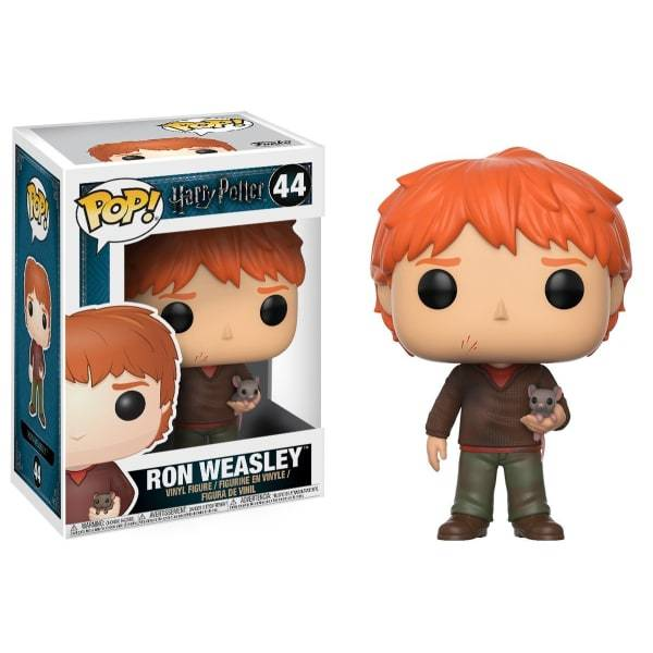 Funko Pop Harry Potter - Ron Weasley w/ Scabbers #44