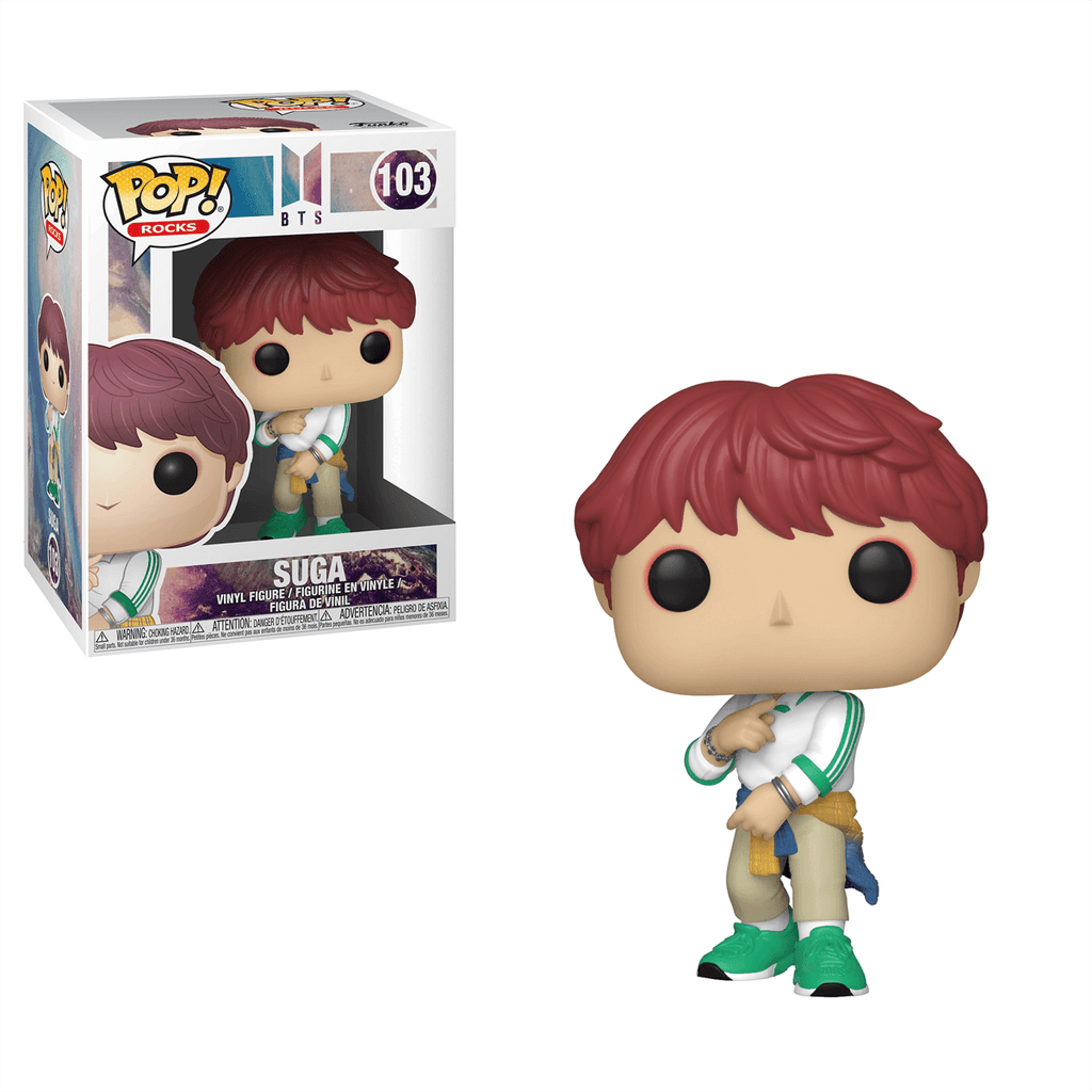 Suga - BTS Funko Pop Rocks #103