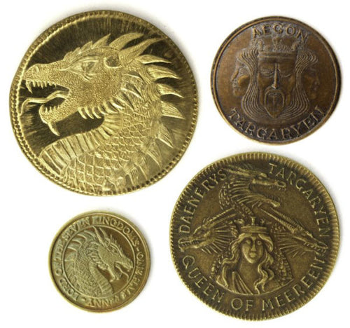 Game of Thrones Targaryen 4-Pack Coin Set by Shire Post Mint