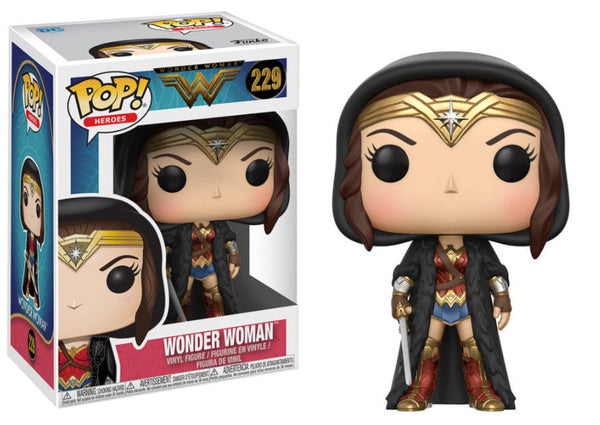 Wonder Woman with Cloak Pop Figure #229