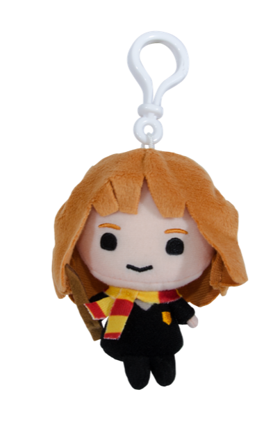 Hermione Granger Plush Keychain (with Clip on) - Harry Potter Charms 4""