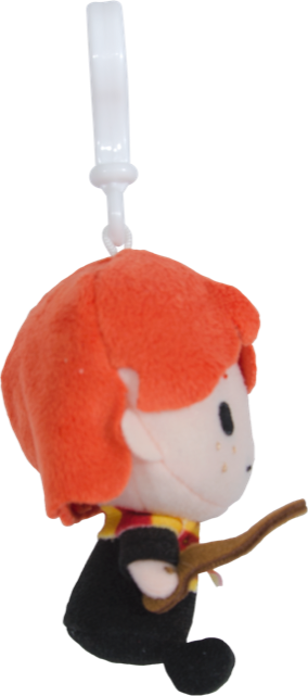 Ron Weasley Plush Keychain (with Clip on) - Harry Potter Charms 4""