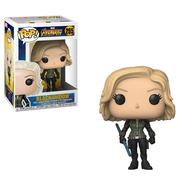 Black Widow - Avengers Infinity War Funko Pop Figure #295